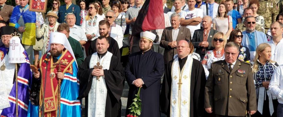 Імами ДУМУ «Умма» на святкових заходах до 28 річниці Незалежности України