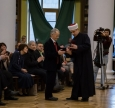 """Mustafa Dzhemilev Awarded With Medal """"For Devotion to Islam and Ukraine"""""""