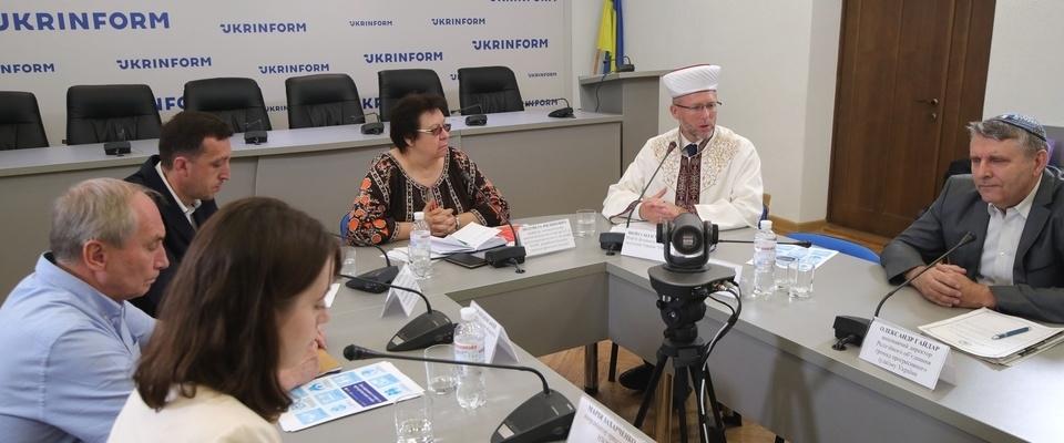 Саид Исмагилов — о попытках «запугать Украину мусульманами» на круглом столе о насилии по религиозному признаку