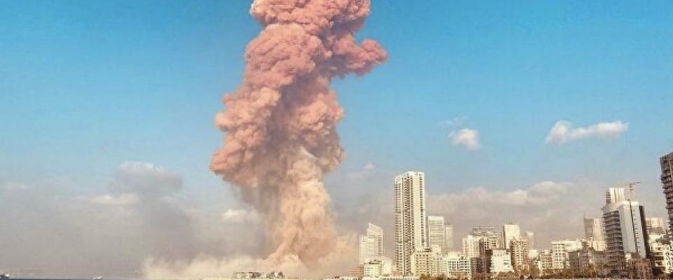 Искренние соболезнования народу Ливана в связи с промышленным взрывом, разрушившим половину столицы