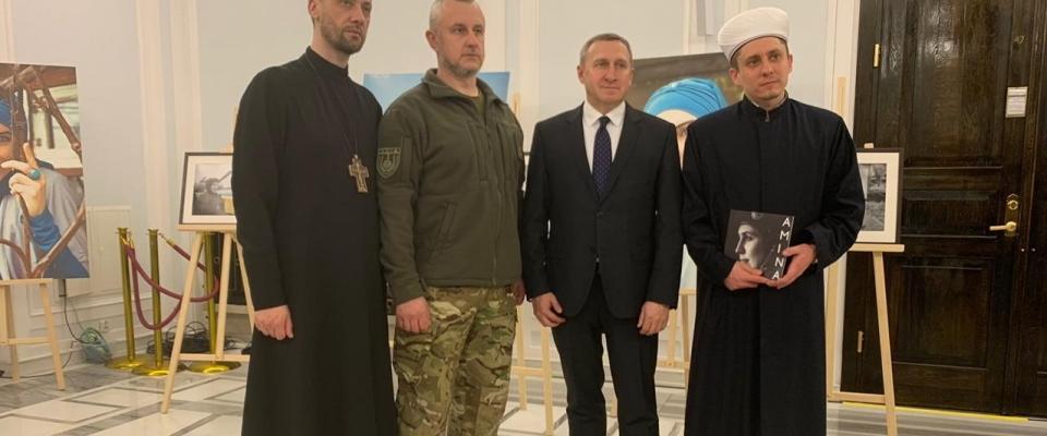 Имам Эдгар Девликамов принял участие в открытии выставки «AMINA:LIFE» в польском Сейме