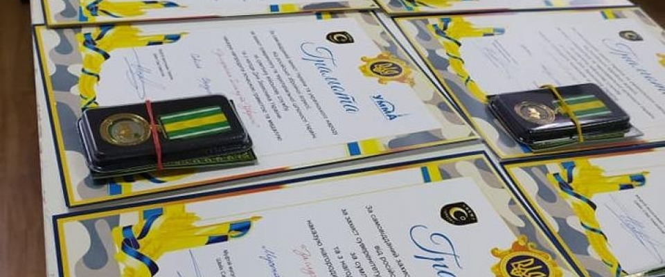 "Odesa: RAMU ""Umma"" awarded medals to Crimean Tatars for their service to Islam and Ukraine"