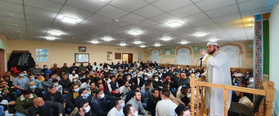 """العيد في مركز """"محمد أسد"""" الثقافي الإسلامي بمدينة لفيف"""