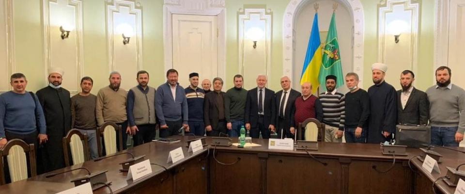 Харьковские мусульмане на встрече с главой города обсудили вопрос кладбища