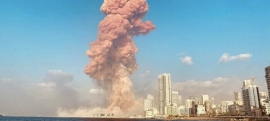 Щирі співчуття народові Лівану з приводу промислового вибуху, що зруйнував половину столиц