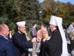 Муфтий Саид Исмагилов на открытии нового фонтана в парке «Владимирская горка»
