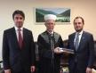 07/14/2021, Ukraine, Kiev, RAMU Umma. Visit of the Ambassador of Turkey Yagmur Guldere and the representative of Diyanet Ali Chimen