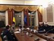 Муфтій ДУМУ «Умма» та його заступник на зустрічі з міністром культури і голови Держслужби з етнополітики й свободи совісти