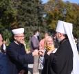 Муфтій Саід Ісмагілов на відкритті нового фонтану в парку «Володимирська гірка»