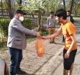 Акция # Едине_тіло в Северодонецке продукты для студентов-мусульман накануне Рамадана