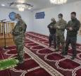 Новая передача на передовую от имамов-капелланов