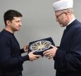 Mufti Said Ismagilov Meets President-Elect Volodymyr Zelenskiy