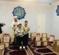 Роздача допомоги від Muslimehelfen у Сєвєродонецьку