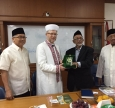 Mufti Said Ismagilov Lectures Students of Indonesian University on Islam in Ukraine — in Arabic