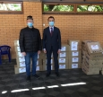 50 Grocery Packs For Needy Muslims From The Embassy Of Turkey